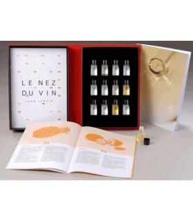 Ensemble de 12 arômes des vins blancs