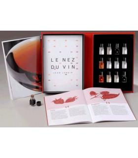 Ensemble de 12 arômes des vins rouges