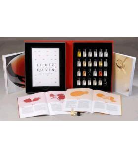 Ensemble de 24 arômes des vins
