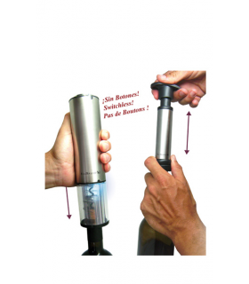 Deluxe Corkscrew & electric vacuum pump