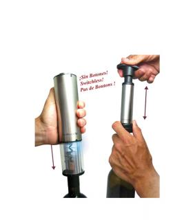 Deluxe Korkenzieher & elektrische Vakuumpumpe