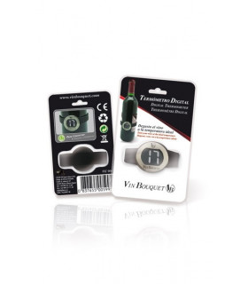 Digital thermometer for wine