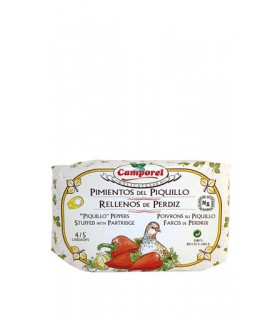 "Poivrons piquillo farcis Partridge ""Camporel"""
