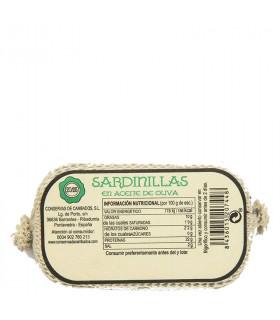 Sardines à l'huile d'olive, Cambados