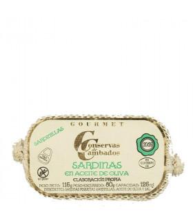 Sardinillas en Aceite de Oliva, Cambados
