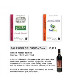 Ribera del Duero personnalisée Tag